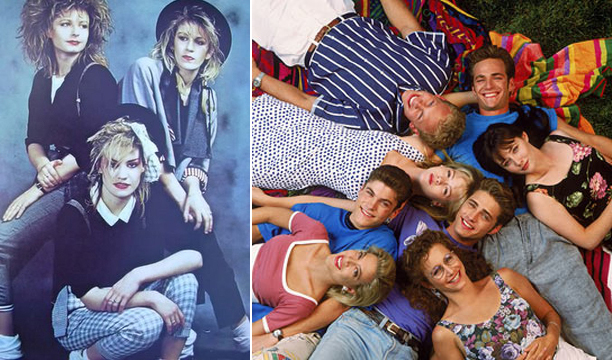 Bananarama and Beverly Hills 90210