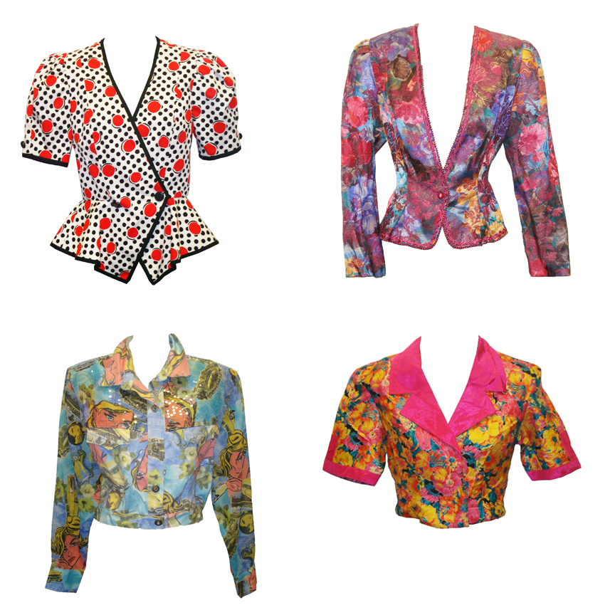 80's or 90's womens jackets