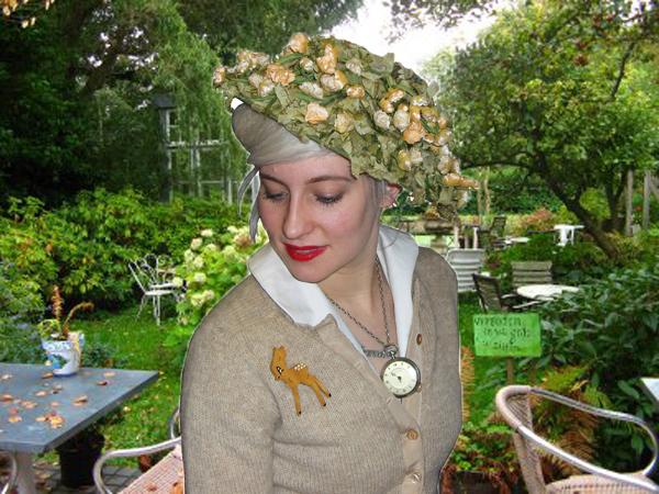 Garden Flower Hat