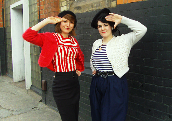 lydia-kelly in sailor outfits