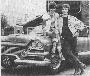 John Dove and Molly White