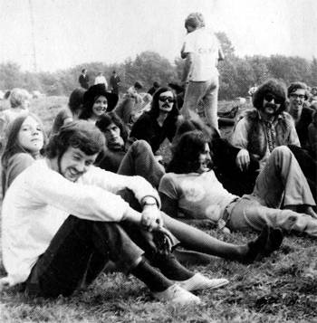 Glastonbury 1970, image thanks to festival-zone.0catch.com