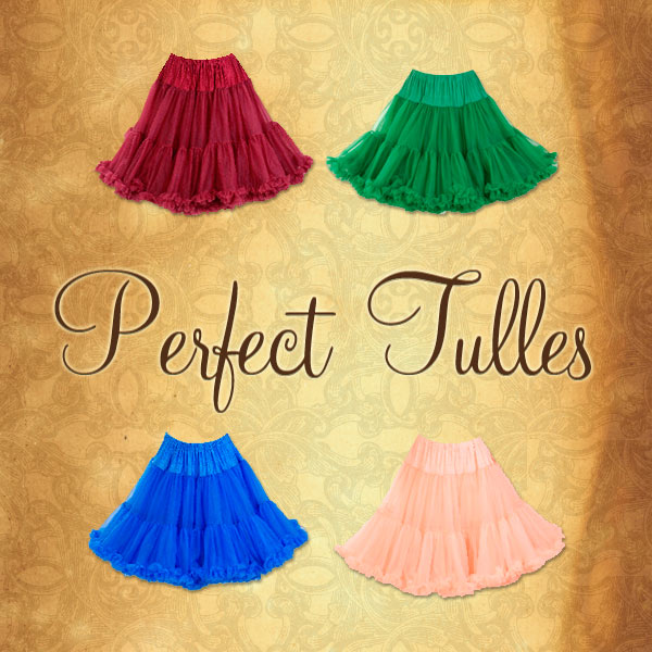 Get Down to our Cheshire Street or Soho store and choose your Tulle