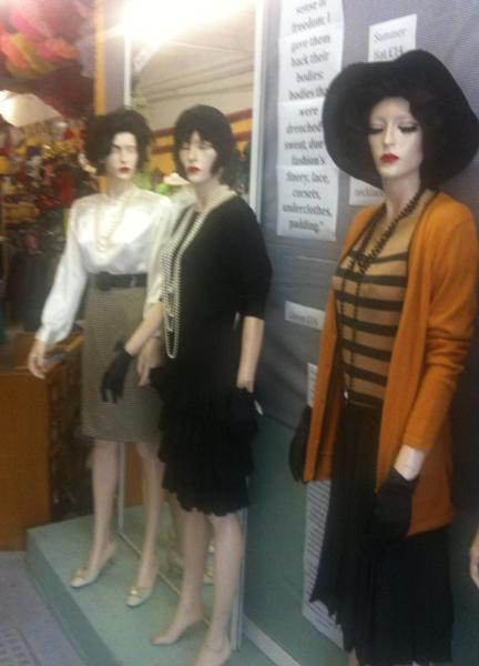 Chanel Girls at Beyond Retro