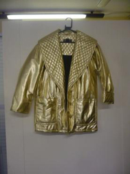 Fabulous Gold Jacket at Beyond Retro
