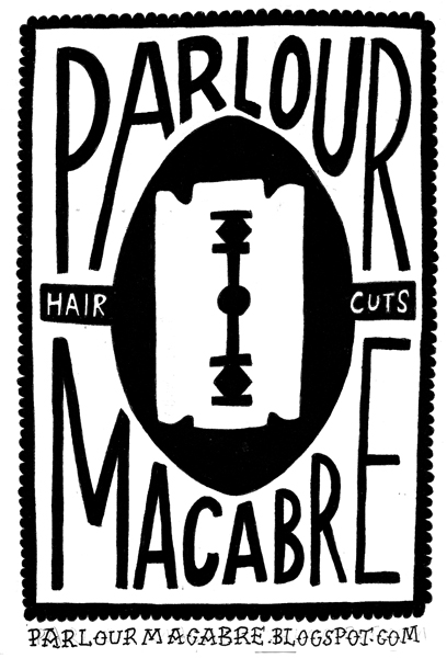 Parlour Macabre will be cutting hair at Beyond Retro on the night!