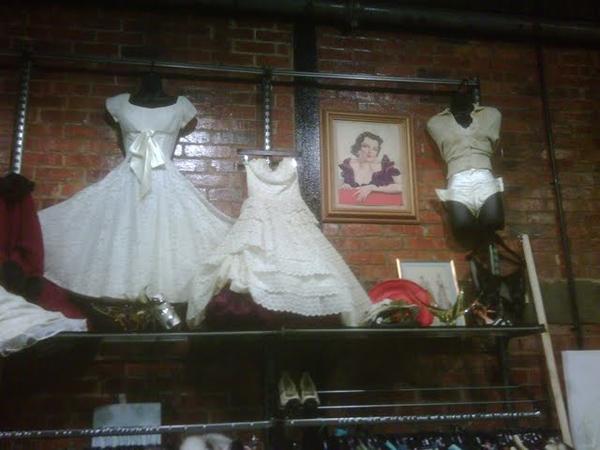 Pretty dresses as Vine Street