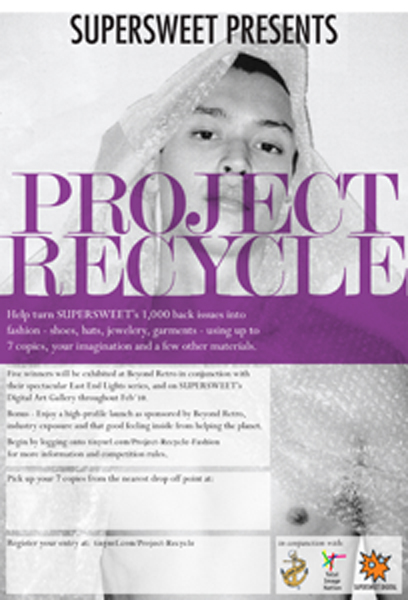 Project Recycle at Beyond Retro