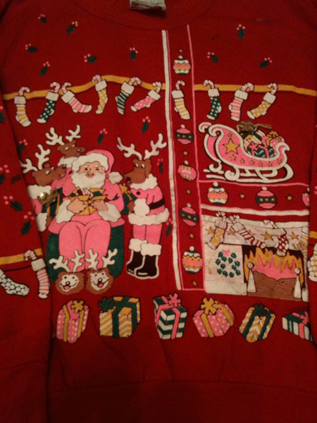 Christmas Top available at Beyond Retro