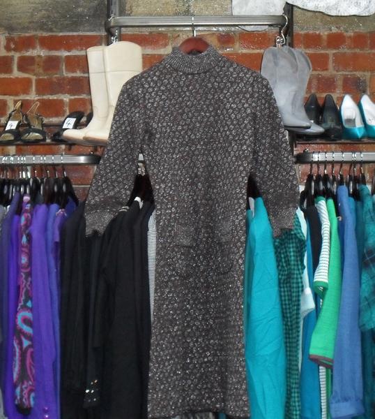 Wool dress at Beyond Retro, Brighton