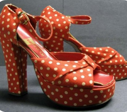 Fabulous Polka Dot Shoes!