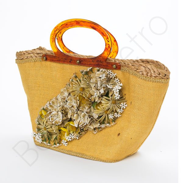 Perfect floral bag at Beyond Retro