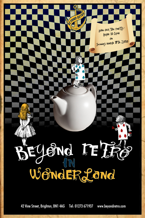 Beyond Retro in Wonderland!