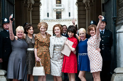 Ladies from 'Made in Dagenham'