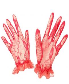 Blood Red Gloves