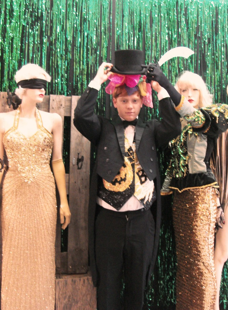 The Cheshire Street team show us how to dress up in style.