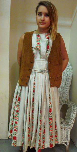 Little Laura in her folk-inspired 70s look!