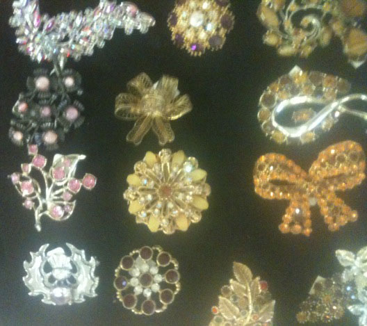 Darling Brooches at Beyond Retro!
