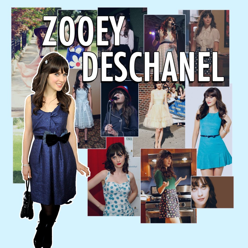 56a25e347 Anyone who watches hit US series New Girl can't help but fall in love with Zooey  Deschanel's bubbly, loveable and undeniably peculiar lead character.