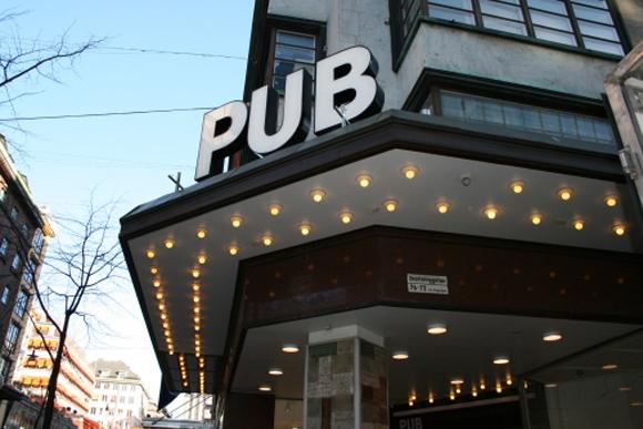 Pub galleria Stockholm