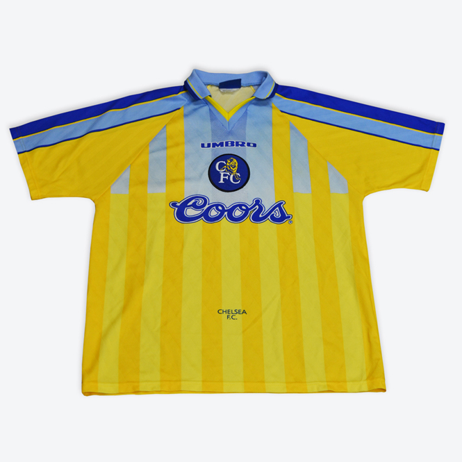 8280af755c3 Crystal Palace Shirt 1989 - 1990 £70.00 Chelsea Away ...