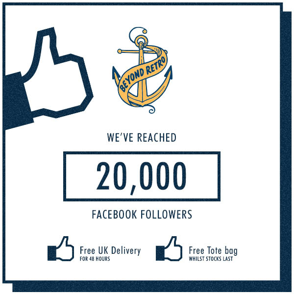We've reached 20,000 Facebook Fans thank you!