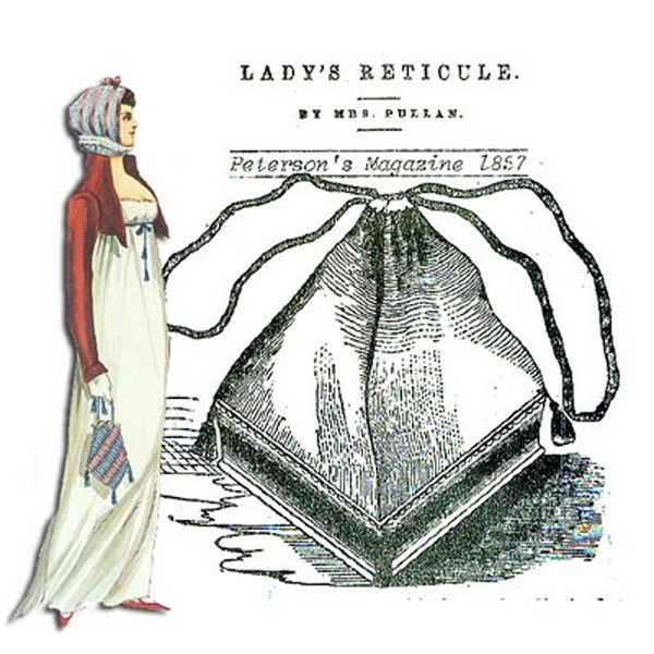 1857 reticule advertisement
