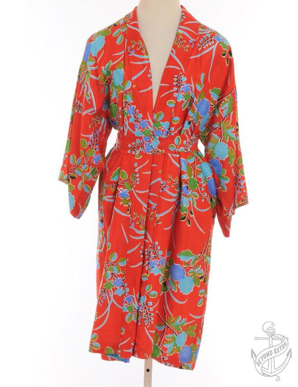 edited red kimono BR