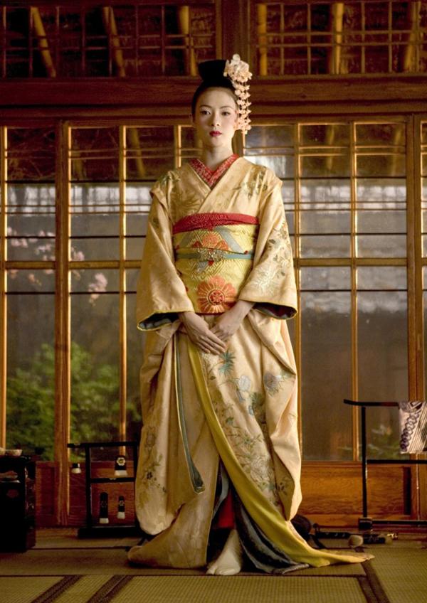 edited traditional kimono