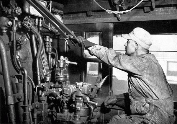 The original use of the boiler suit