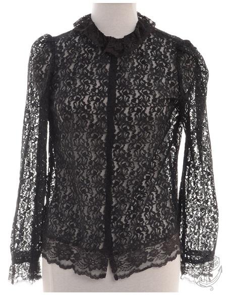 Evening Blouse Black: £20 - Beyond Retro