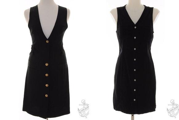 Sleeveless Dress: £28; 90s Sleeveless Dress: £33 - Beyond Retro