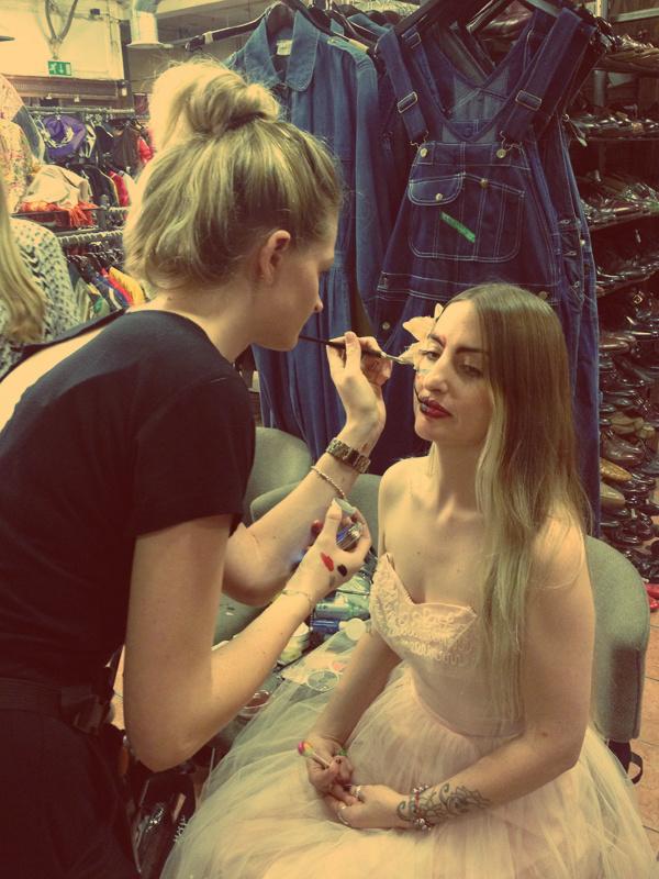 Girl make up EDIT