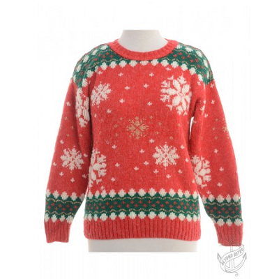 Nordic red jumper, £26