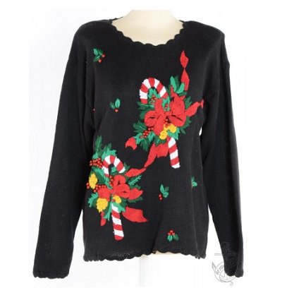 Jumper Black With Embroidery £22.00