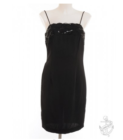 Strappy Dress Black With Sequins £37.00
