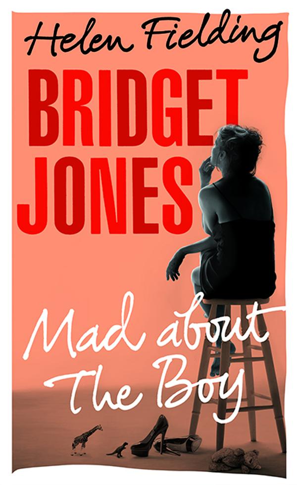 BRIDGET JONES MAD ABOUT THE BOY book jacket LO RES