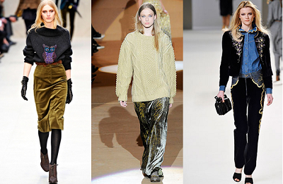 Burberry Prorsum, Marc Jacobs and Chloe.