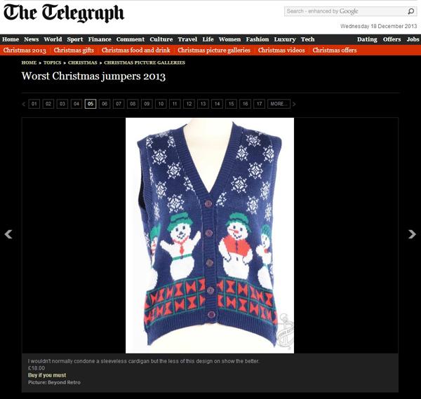 worst xmas jumper 2013 2 (telegraph)