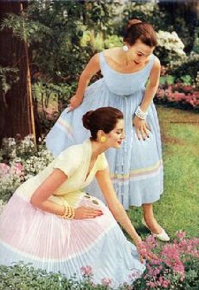 1950's pastel