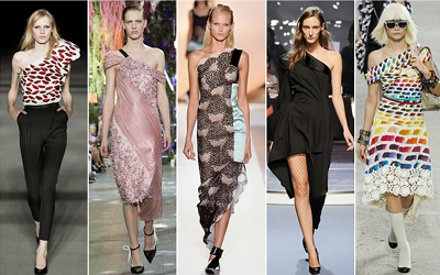 Chanel, Isabel Marant, Hussein Chalayan and Chloe- S/S '14