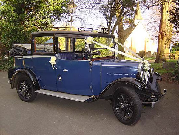 Cheshire Vintage Taxi Firm