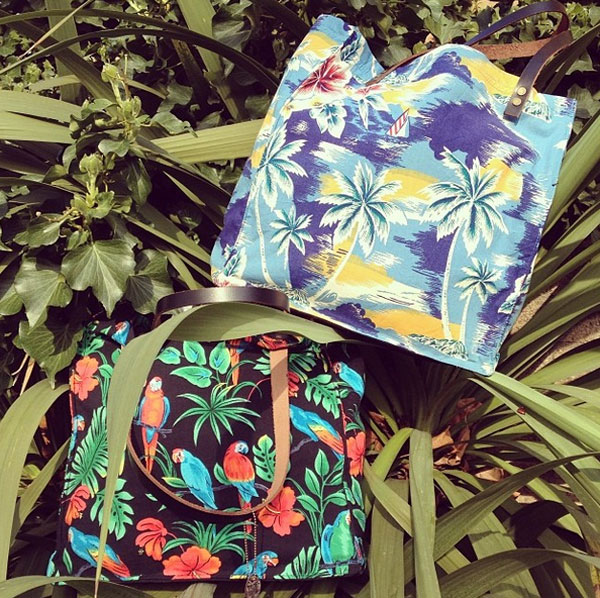 Hawaiian-Label-Bags