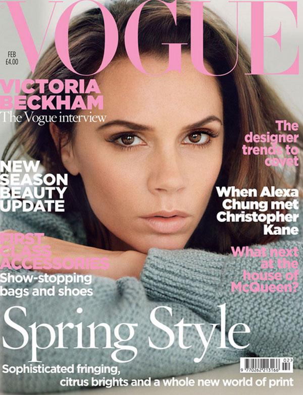 Vogue UK, cover Feb '13