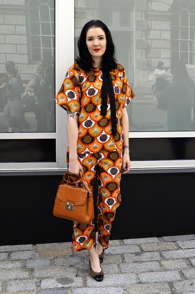 Vintage style clothes london  London Fashion Week: Vintage Street Style – Beyond Retro