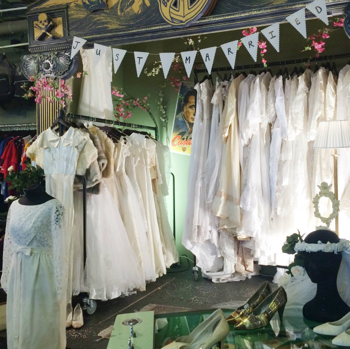 Beyond Retro Vintage Wedding Dresses London