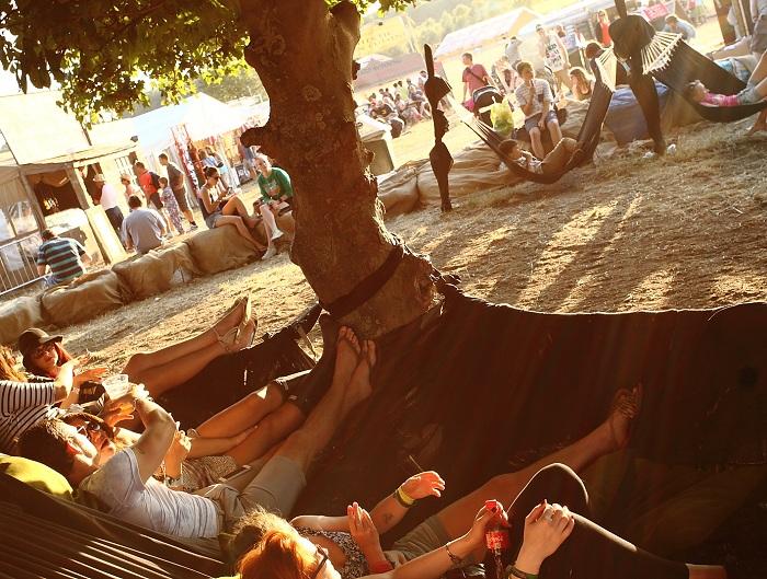 Standon Calling hammock image