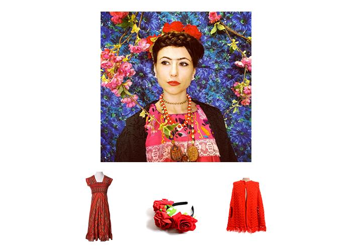 Frida Kahlo Halloween Costume
