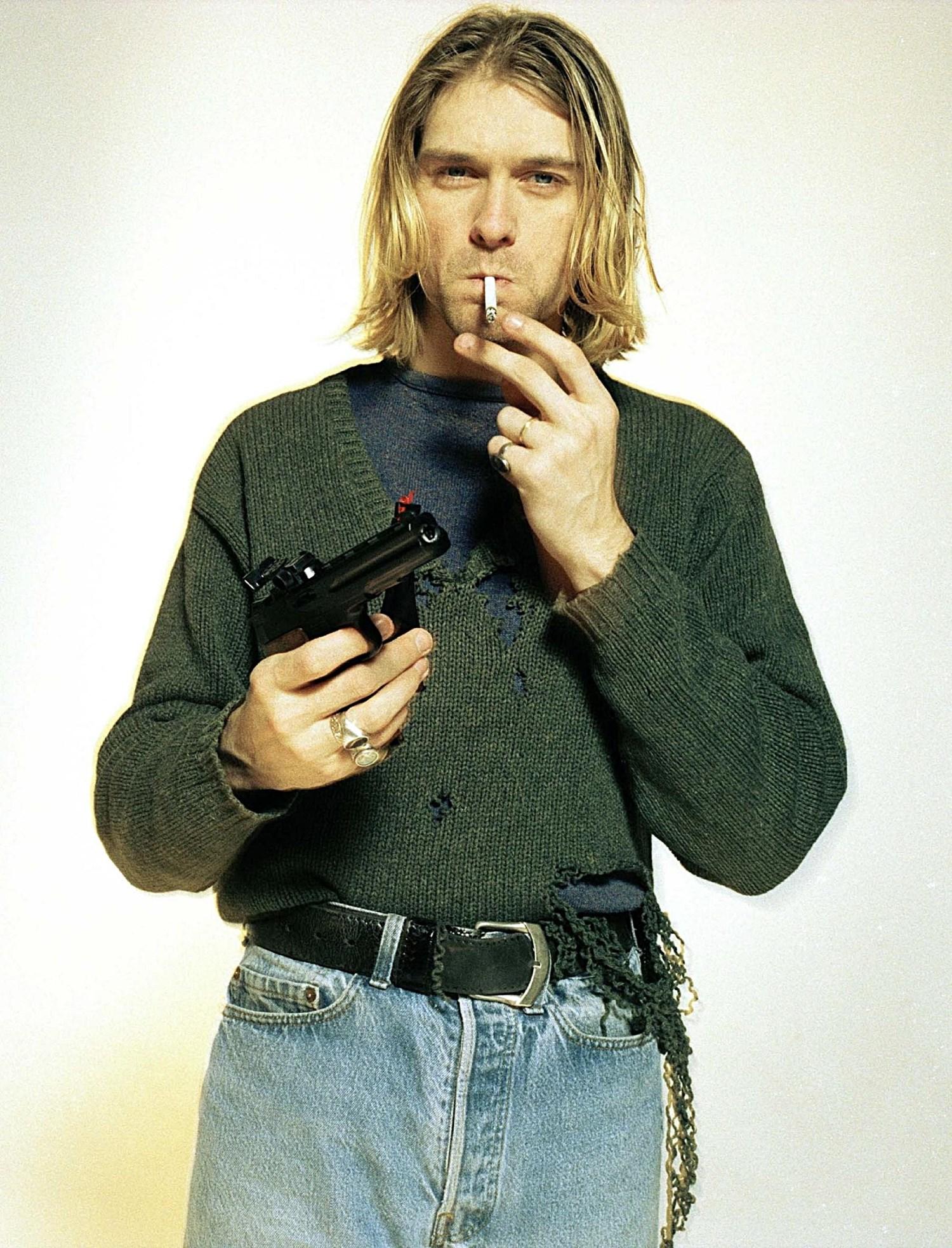 Kurt Cobain Vintage Jumper 90s