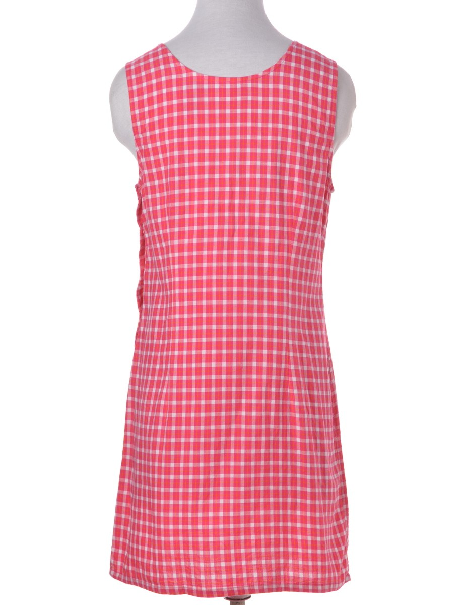 Day Dress Pink With An A-line Skirt - £31.00